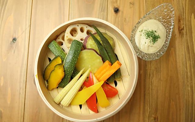 スチーム温野菜10種~ヘシコバーニャカウダで~