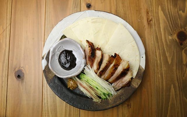 大和肉鶏の北京ダック風